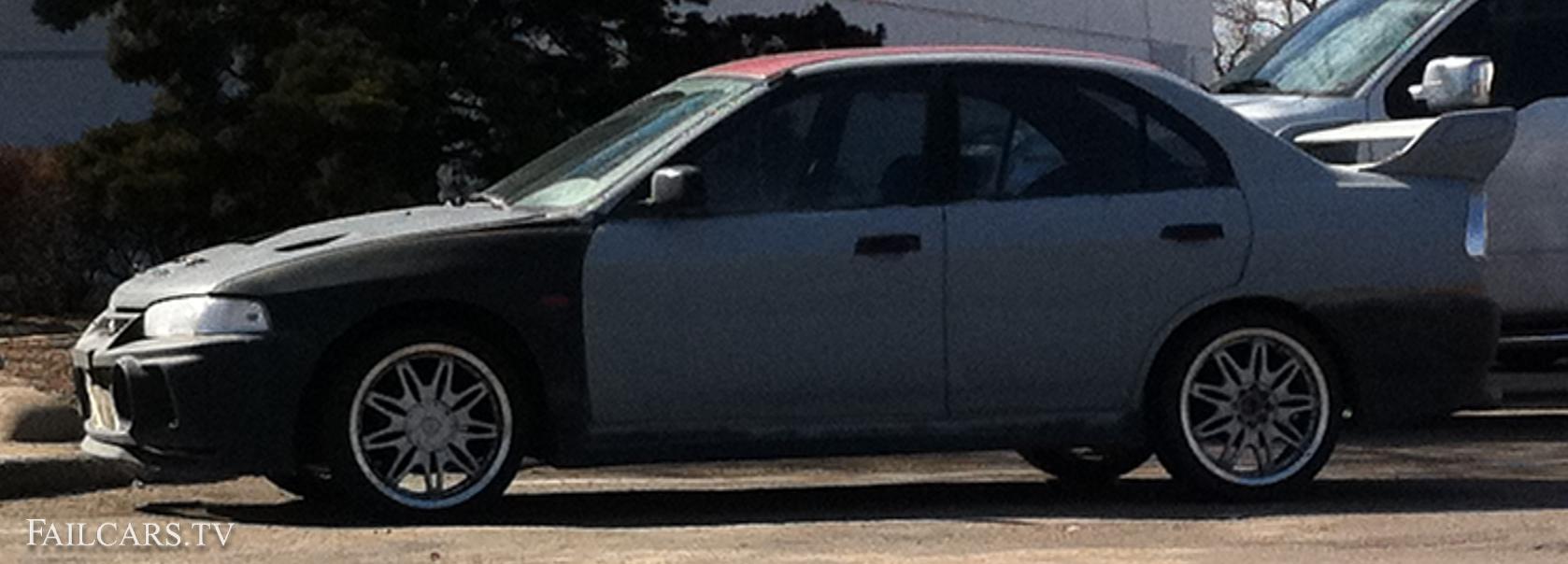 Primer Nissan Sentra Fail Car
