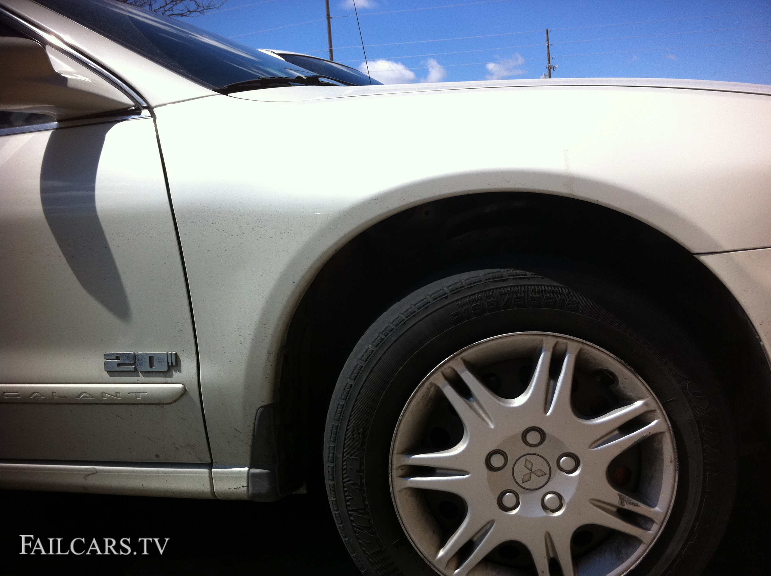 "20"" Dub Emblem Mitsubishi Fail Car"