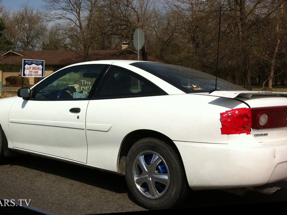 Chevy Cavalier Tailight Spoiler Fail Car