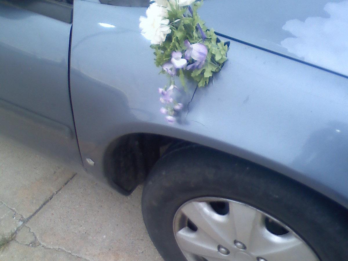 Honda Civic Flower Fail Car