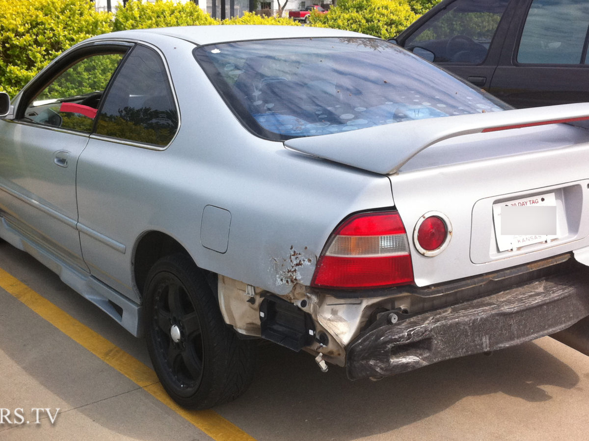 Ricer Honda IS300 Fail